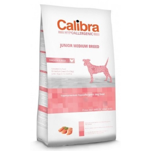 Calibra 14kg Junior MB hypoal. chicken+rice