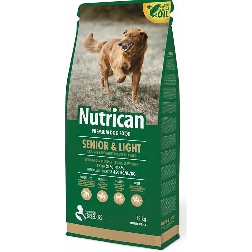 Nutrican 15kg Senior/Light dog