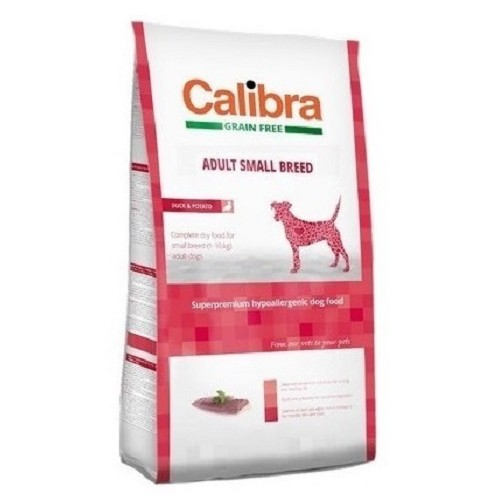 Calibra 7kg Adult SB grain free Duck Potato