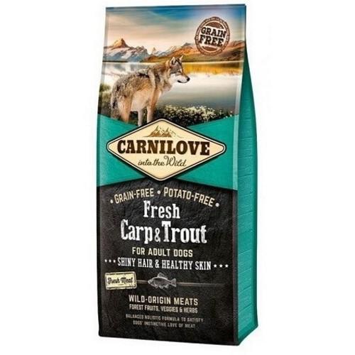 Carnilove dog Fresh Adult Carp & trout 12 kg