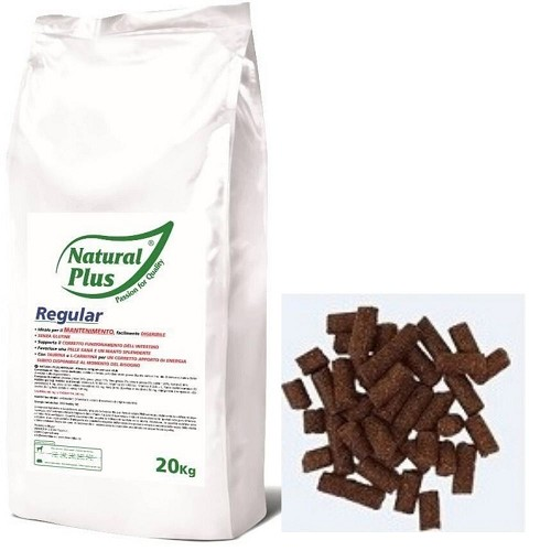 Natural Plus Regular 20kg lisováno za studena