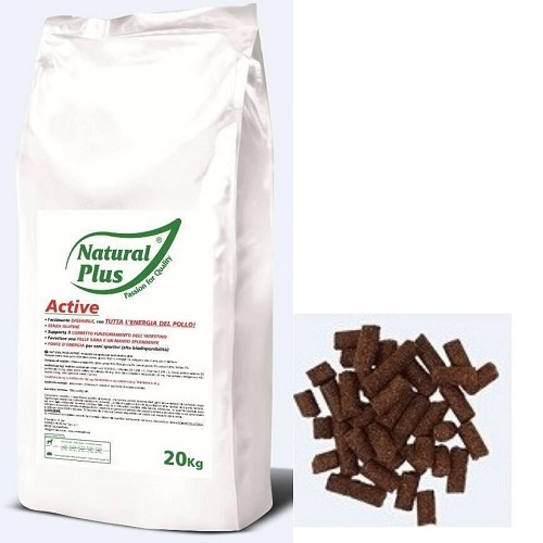 Natural Plus Active 20kg lisováno za studena