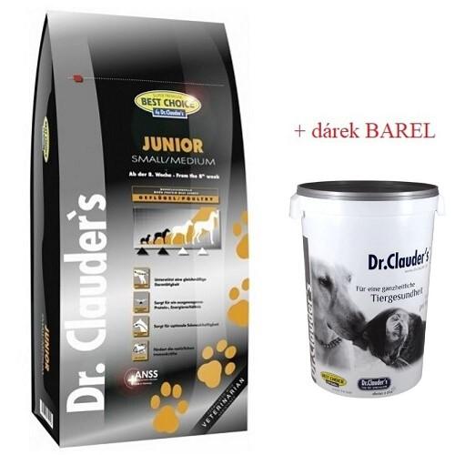 BEST CHOICE 12,5KG JUNIOR SB/MB + BAREL