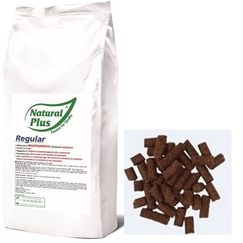 Natural Plus Regular 4kg lisováno za studena