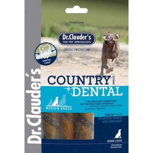Dr.Cl.100g Country Dental Snack Fish Medium