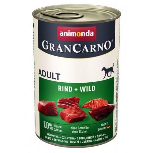 Animonda Grancarno Adult  hovězí + zvěřina 400g