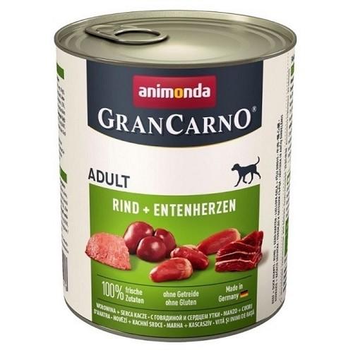 Animonda Gran Carno Adult hovězí & kachní srdce 800 g