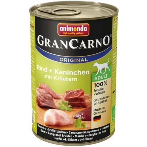 Animonda Gran Carno Adult hovězí & králík a bylinky 400 g