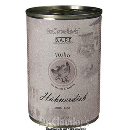 Dr.Cl.BARF 400g Hühnerdieb dog+cat 94