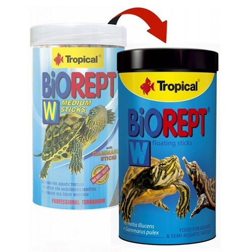 Tropical Biorept W medium 100ml granule pro želvy