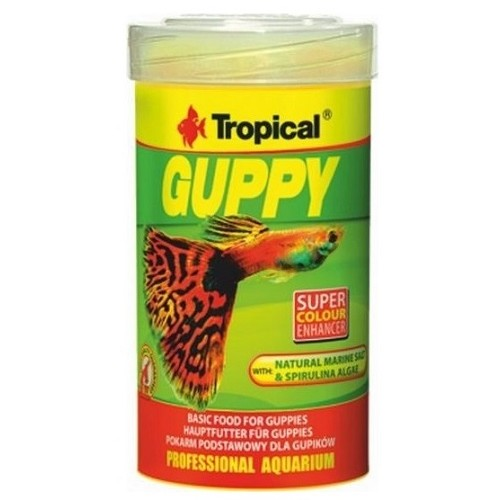 Tropical Guppy 100ml vločky