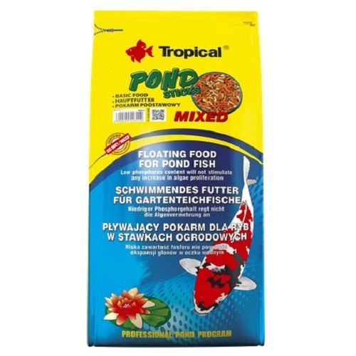 Tropical Pond Sticks Mixed 4kg/pytel