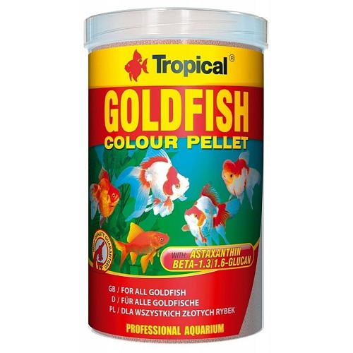 Tropical Goldfish Colour 1000ml granule