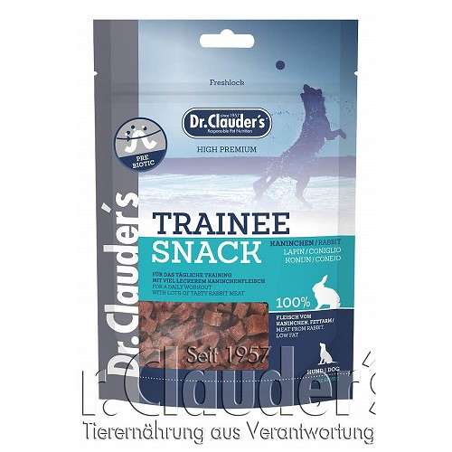 Dr.Cl.Dog  80g Trainee Snack Kaninchen