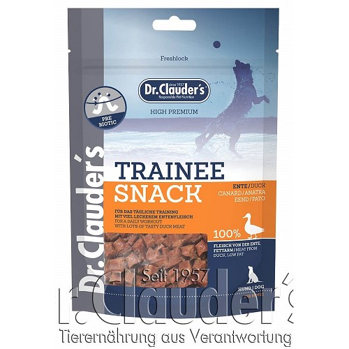 Dr.Cl.Dog  80g Trainee Snack Ente